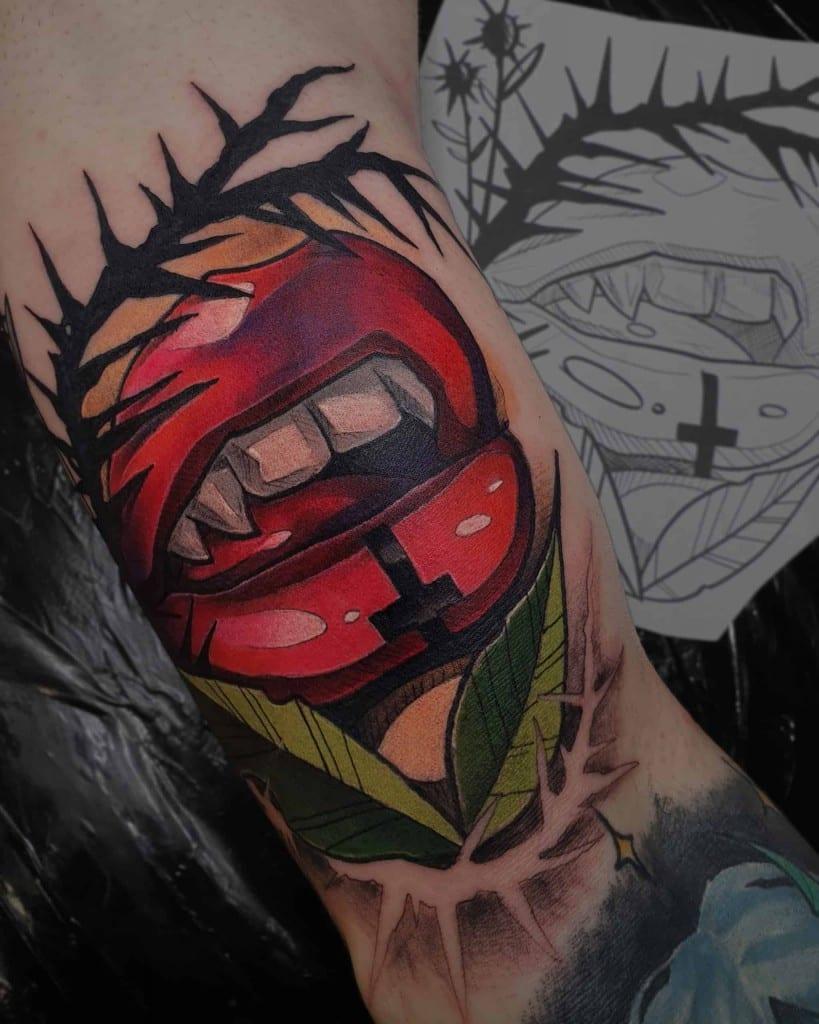 neotradycyjny tatuaż