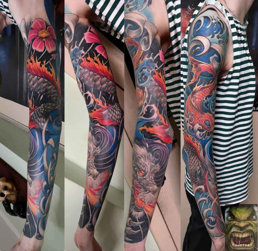 tatuaż - styl japoński