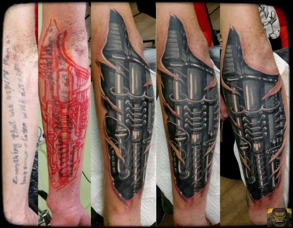 Tatuaż biomechenika