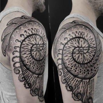 fibonachi tattoo