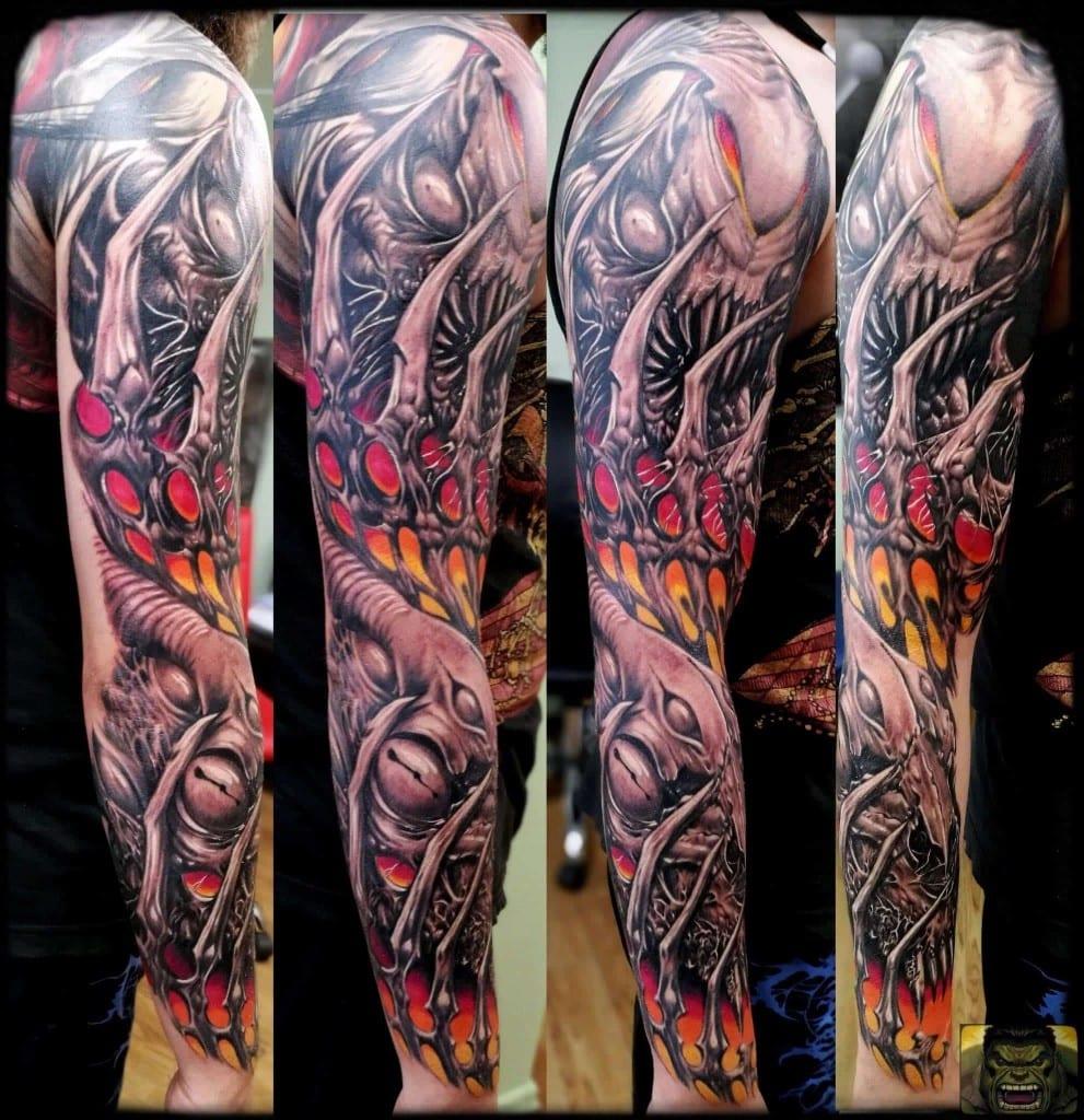 Tatuaż organika