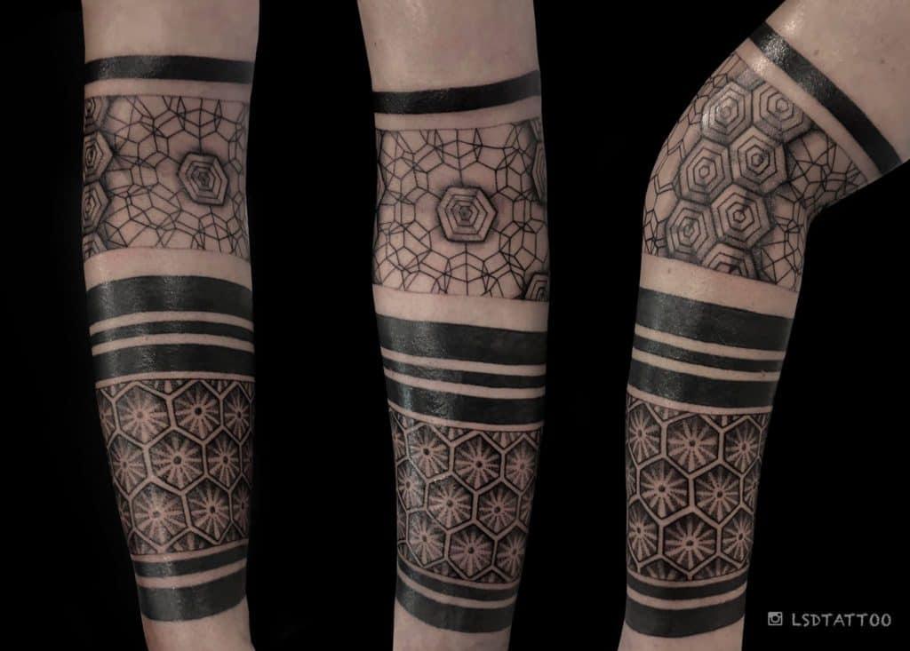 Tatuaż geometryczny