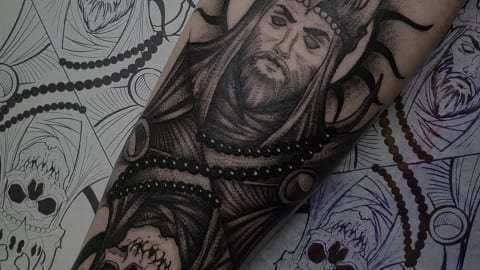 king tattoo