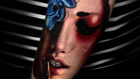 kolorowy realizm portret 1