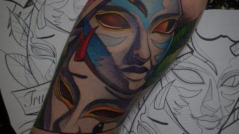 neotrad maski kolor