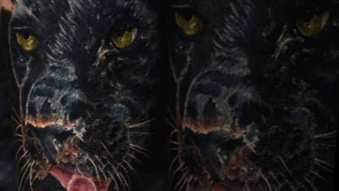pantera tatuaż
