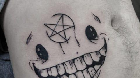 tatuaz graficzny 4