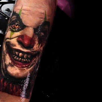 jocker tattoo