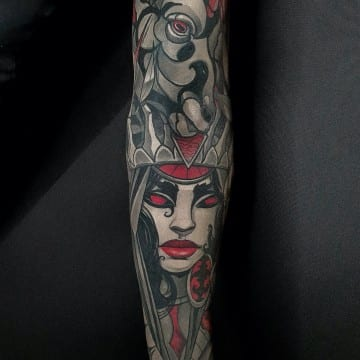 tatuaz neotradycyjny pezdramie