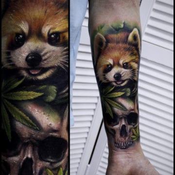 szop tatuaż