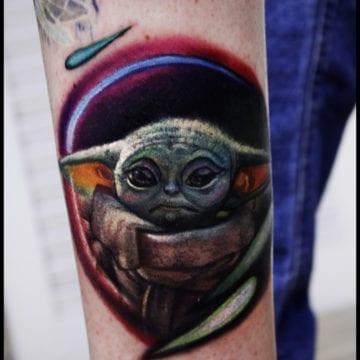tatuaz gwiezndne wojny