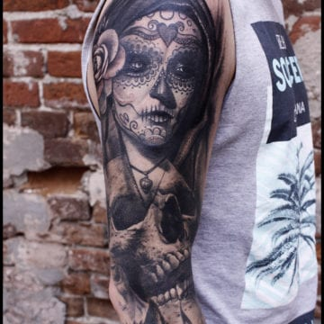 tattoo muerta