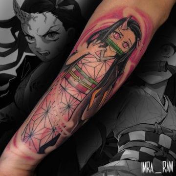 tatuaż przedramię neotrad