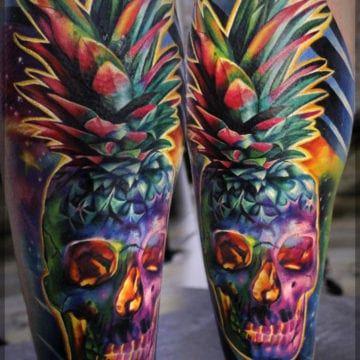 tatuaż kolorowy