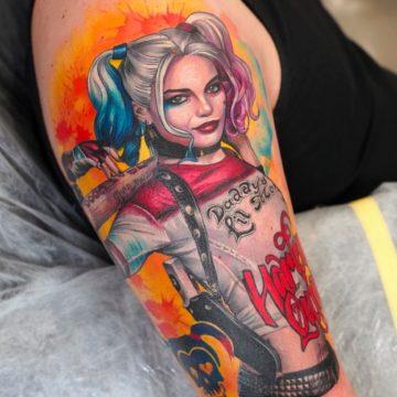 harrie queen tatuaz