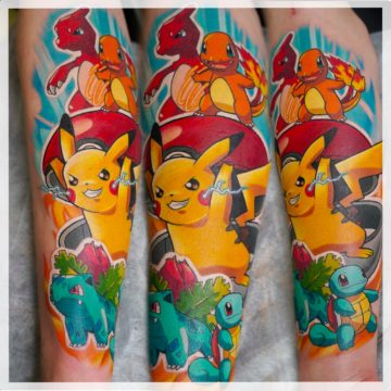pokemon tatuaz