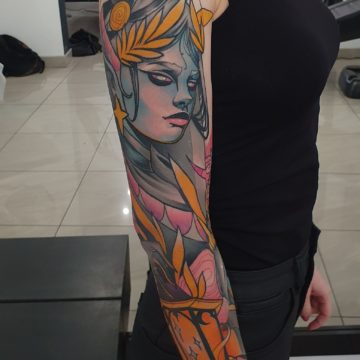 tatuaz neotrad rekaw
