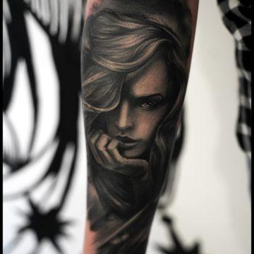 tatuaz portret
