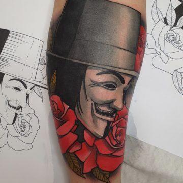 tatuaz styl valentina