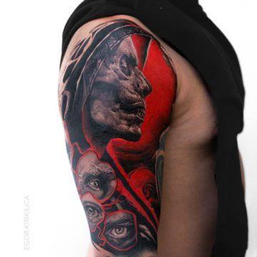 trash polka tatuaz