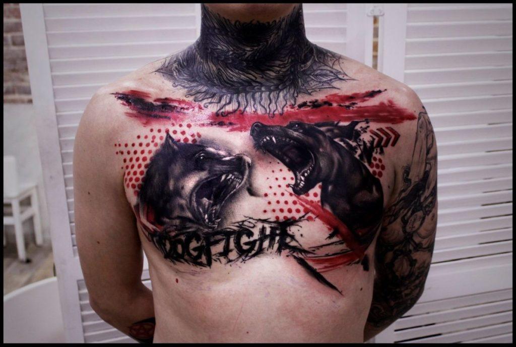 dobry tatuażysta trash polka