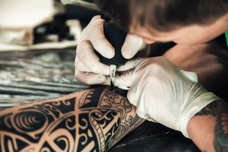 tatuaż rytualny
